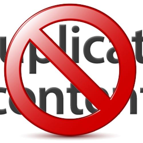 SEO: Uwaga na Duplicate Content