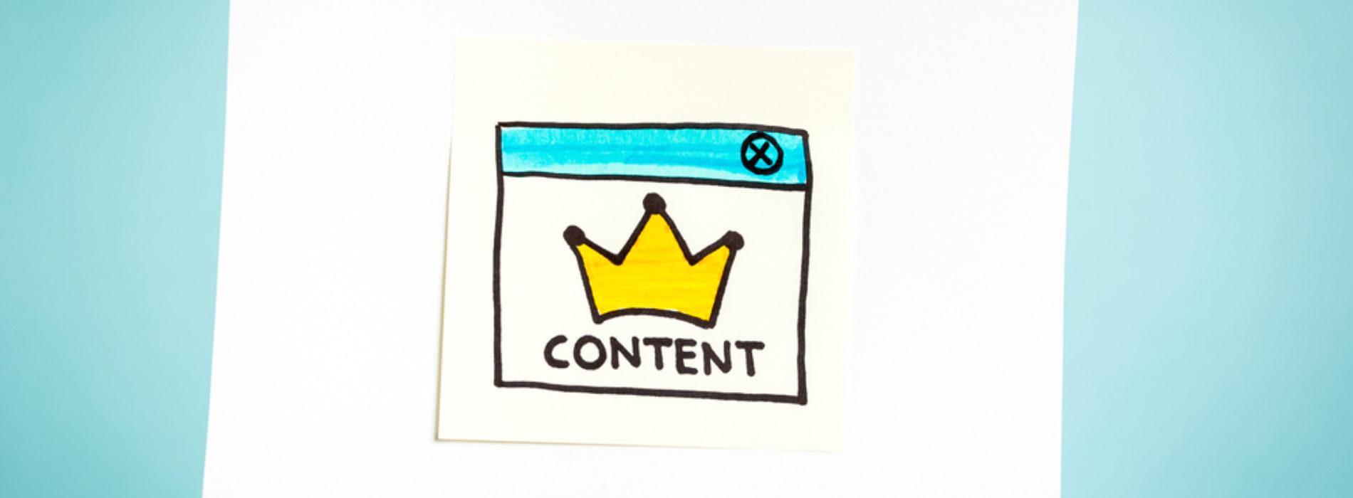 Statystyki potwierdzają: content is king